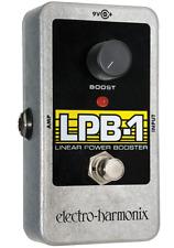 EHX Electro-Harmonix LPB-1 Linear Power Booster Preamp Guitar Effects Pedal LPB1