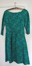 "Vintage Green ""Wendy"" dress with lined skirt"
