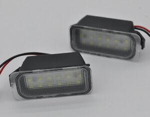 Canbus White LED 6000K License Plate Light Lamp For Ford Transit 150 250 350 HD