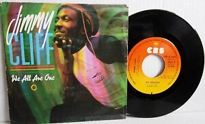 JIMMY CLIFF***WE ARE ALL ONE***NO APOLOGY CBS PICTURE SLEEVE SPANISH ISSUE 1983