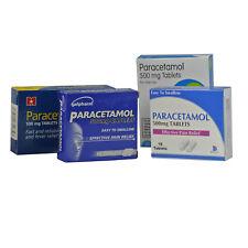 32 Paracetamol Headache Backache and Pain Relief 500mg Caplets