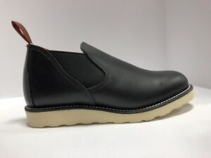 Red Wing Shoes Mens Romeo Slip On Oxford Black Size 8 E