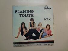 "FLAMING YOUTH: (w/Phil Collins Pre-Genesis)Ark 2-Portugal 7"" 1969 Fontana EP PCV"