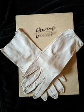 Vintage Ladies Leather Gloves /size small & Two Snap Closures in Original Box