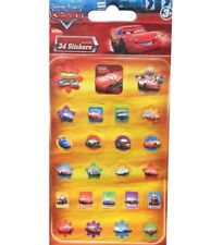 SET 30 STICKERS CARS FLASH MC QUEEN DISNEY