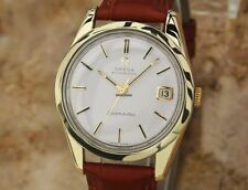 1962 Omega Seamaster. 14k solid gold bezel. In Special Gift Box.