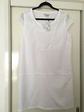Ladies White Dress New With Tags Size 16