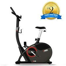 New York C410 Programmed Upright Exercise Bike with Computer