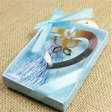 Heart Butterfly Creative Exquisite Alloy Bookmarks With Ribbon Box Gift♫