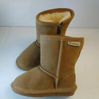 Toddler Bearpaw Emma Boot 608T Zipper Hickory Suede NEW Size 8 free shipping