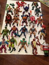 He-man Vintage MOTU 21 Figure Lot Modulok Rio Hiss Tung Webstor Ram Clawful