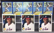 1990 Upper Deck & Score Sammy Sosa Rookie Cards - Lot Of 8