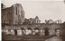 Yorkshire Postcard - The Cloister Court, Fountains Abbey - Real Photograph A5709