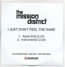 (AA206) The Mission District, I Just Don't Feel...DJ CD