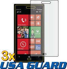 3x Clear LCD Screen Protector Guard Shield Cover Saver Film for Nokia Lumia 928