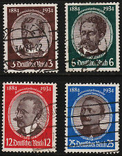 OPC 1934 Germany Lost Colonies Set Sc#432-435 Used Sound VF  11994
