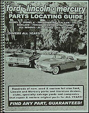 Find Ford Car Parts with book 1956 1957 1958 1959 1960 1961 Fairlane Thunderbird