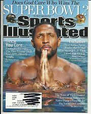 2013 Sports Illustrated Magazine February 4th Ray Lewis