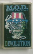 M.O.D. Devolution CASSETTE s.o.d. sacred reich exodus thrash anthrax slayer