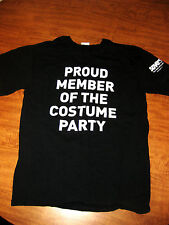 SAVERS small T shirt Halloween tee Proud Member of Costume Party Value Village