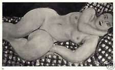 MATISSE SIGNED 1935 LITHOGRAPH w/COA. VERY SEXY & VERY RARE HENRI MATISSE ART