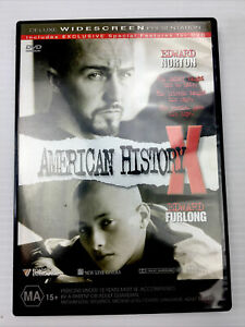 American History X Edward Norton Edward Furlong DVD R4 PAL MA15+