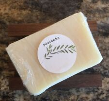 puresweden olive oil soap + wood soap dish