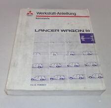 Werkstatthandbuch Mitsubishi Lancer Wagon C6A / C7A 2WD / 4WD Baujahr 1989