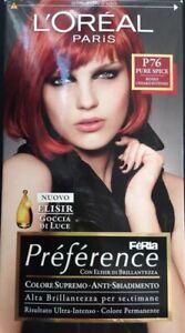 L'OREAL PREFERENCE FERIA P76 ROSSO CHIARO INTENSO
