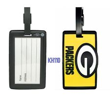 NFL Green Bay Packers Soft Luggage ID Bag Tags /Gym bag / Golf bag
