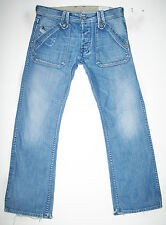 *Men's DIESEL @ KARDEEF Art 8AT RELAXED STRAIGHT LEG Jeans 32 x 30 (Fit 33 x 30)