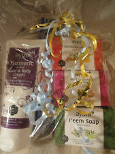 GIFT SET WILD TUMERIC FACE CREAM 3 SOAP+ INCENSE 5 ITEMS