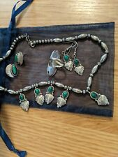 turquoise jewelry lot Vintage sterling silver