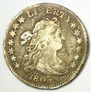 1803 Draped Bust Dime 10C - VF Details - Rare Early Date Coin!