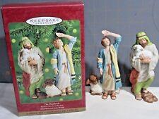"2000 Hallmark QX8361 ""The Shepherds""  Ornaments"