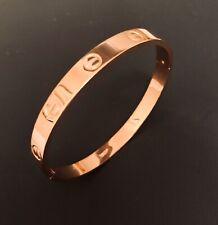Just onu lo más genial brazalete pulsera clavo de lujo Nail Rose-oro pedrería armspange Gold