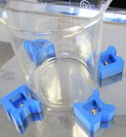 Magnetic Clamp Stabilizer Block 4 Orbital Shaker Platform Flask Beaker Tube Rack