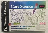 Thames & Kosmos Core Science Physical & Life Sciences MS-1 Curriculabs NIB