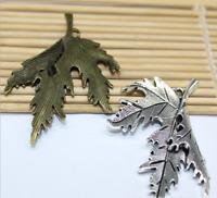 3pcs Exquisite fashion design of Tibetan silver Double lion crown charm pendant