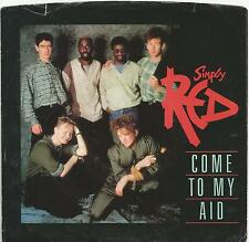 Simply Red - Come To My Aid 1985 USA promotional vinyl single