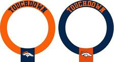 Denver Broncos cornhole board hole decal(2 per order)