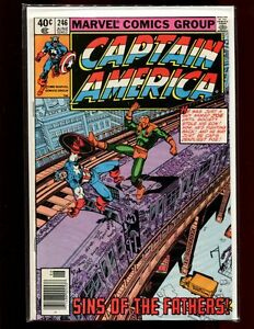CAPTAIN AMERICA 246(5.5)(FN-)MARVEL(b052)