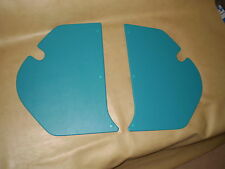 For Holden HD-HR kick panels L & R. Teal vinyl. NEW. Incl trim clips.