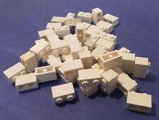 LEGO 50 X PIETRA base 1x2 Bianco | WHITE BASIC Brick 3004 300401 4613964