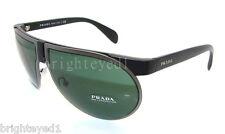 Authentic PRADA Matte Black/Gunmetal Sunglasses PR 23P 23PS - 1BO3O1  *NEW*