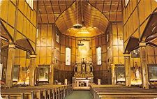 B33076 The Interior of the Martyrs Shrine Midland Ontario  canada