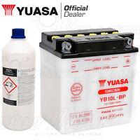 BATTERIA YUASA YB10L-BP 12V 12Ah PIAGGIO BEVERLY 500 ANNO 2002 2003 2004 2005