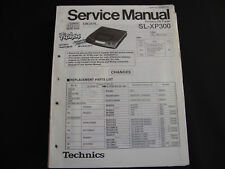 ORIGINALI service manual TECHNICS sl-xp300