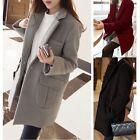 Fashion Women Ladies Warm Slim Long Coat Winter Jacket Trench Overcoat Outwear