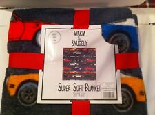 Camaro Super Soft Blanket Warm And Snuggly 50x60 Inches